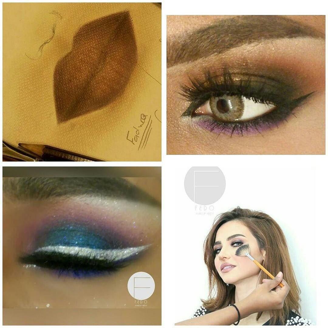 ميك اب ارتست فدوى عاشقة للمكياج نصائح للبشره والميك اب ولوكات ميك اب Makeup Fedo Lipstick Beauty