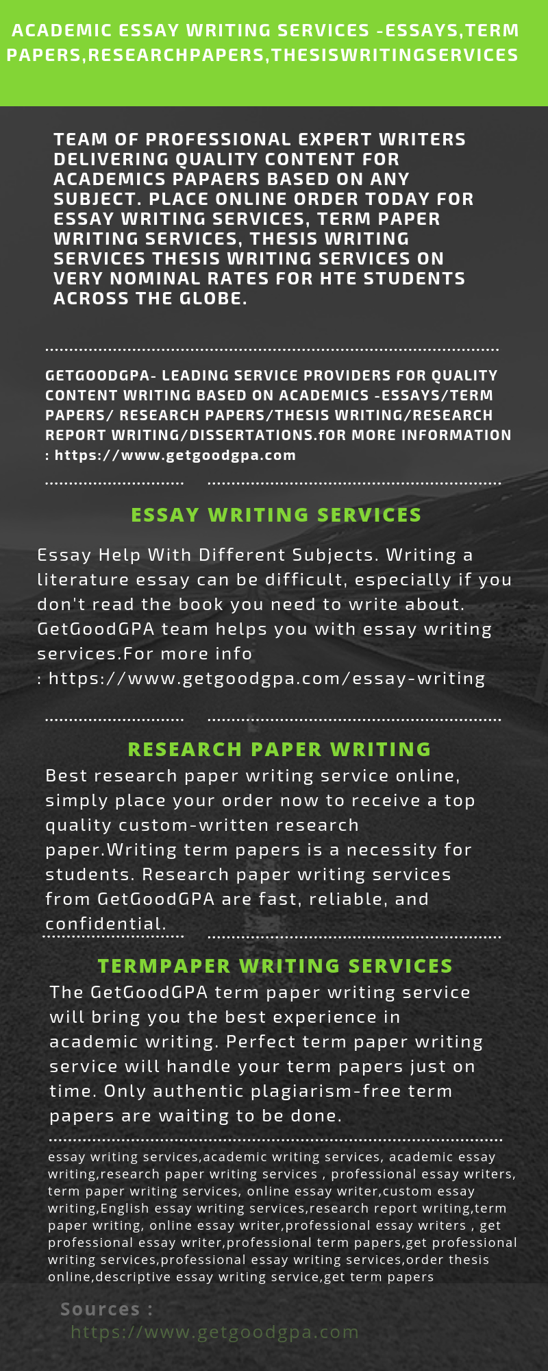 best term paper writers services online