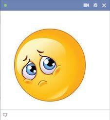 facebook sad emoticon almost crying emoticones pinterest. Black Bedroom Furniture Sets. Home Design Ideas