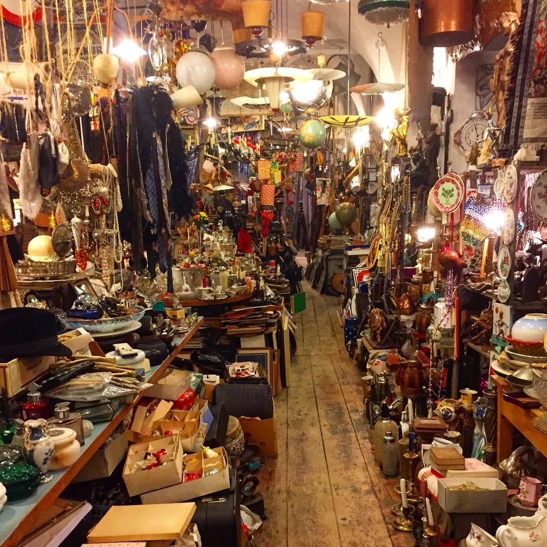 What Better Way To Bring A Piece Of Prague Back Home With You Than Finding A Little Treasure At A Local Antique Store We Antique Shops Antiques Antique Stores