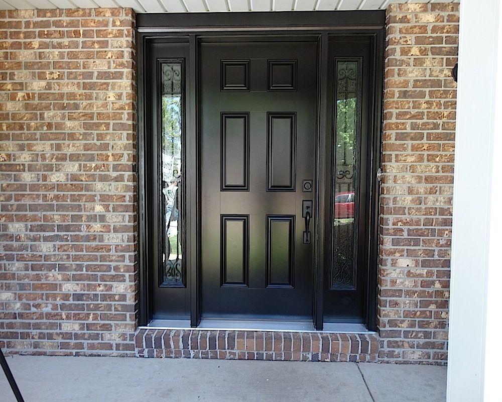Captivating Black Entry Door Knobs