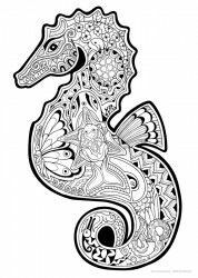 Hard coloring pages coloring pages Color pencil art