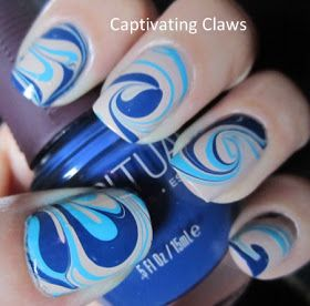 Captivating Claws: Weekly Water Marble 2/16/12