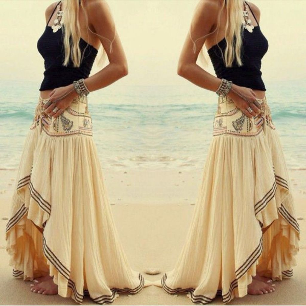 Asymmetrical Skirts and Dresses
