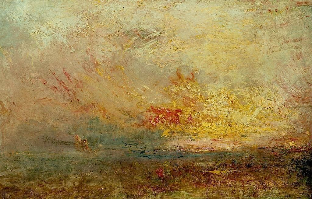 Turner Clouds And Water 1840 Classic Artists I
