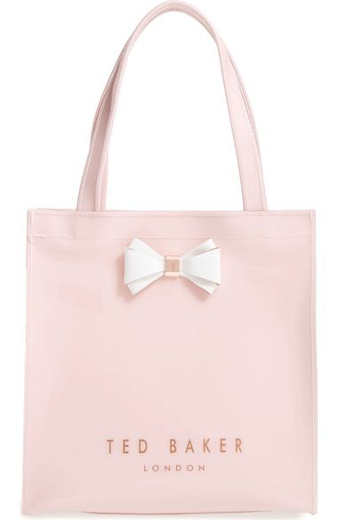 515398c6756 TED BAKER Small Icon - Bow Tote. #tedbaker #bags #hand bags #pvc #tote #