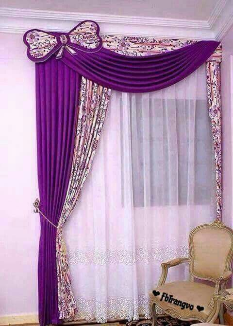 curtain designs curtain ideas stage decoration room curtains victoria yellow roses yellow - Cortinas Moradas