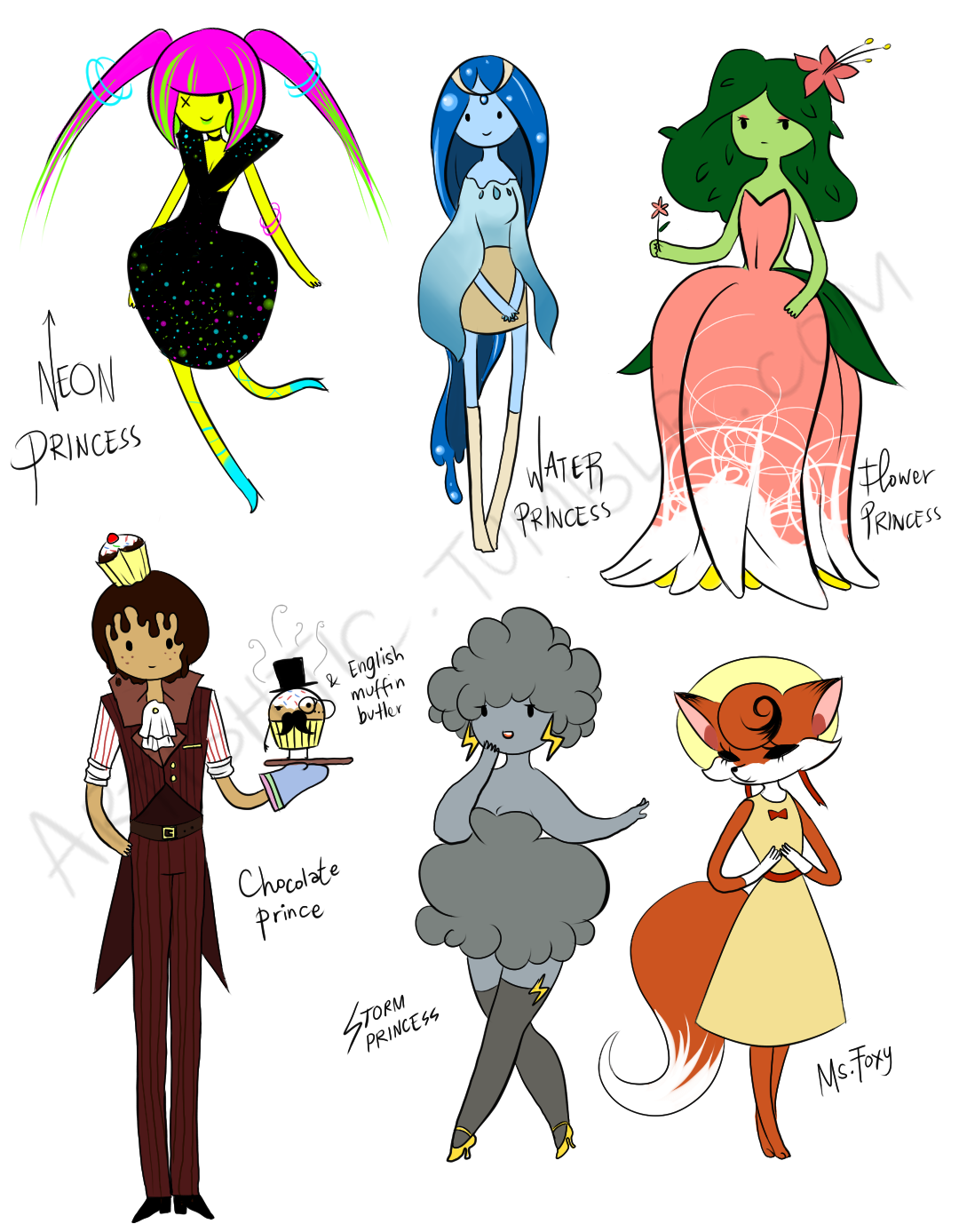 Adventure Time Characters | adventure time princess ...