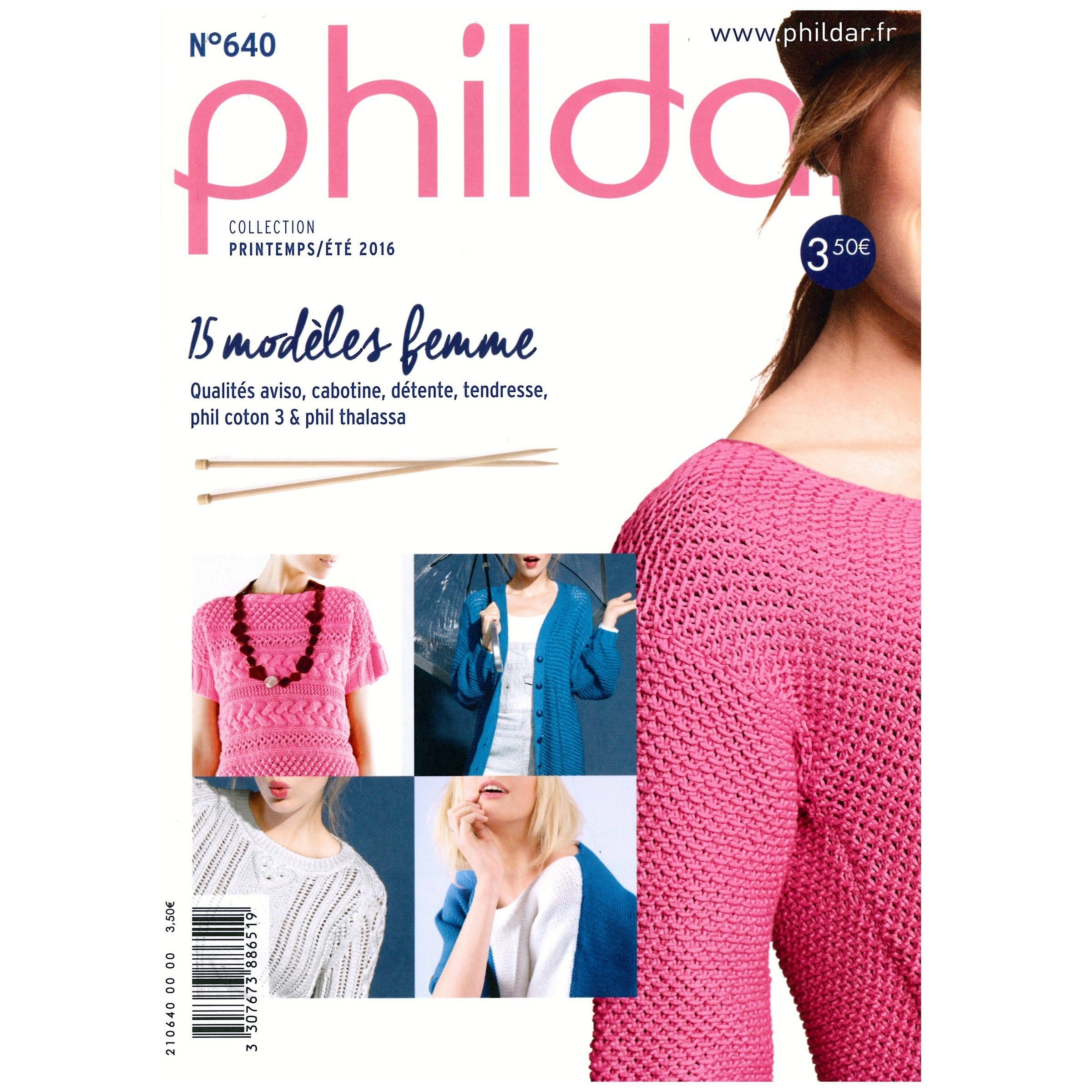 catalogue phildar femme 2015