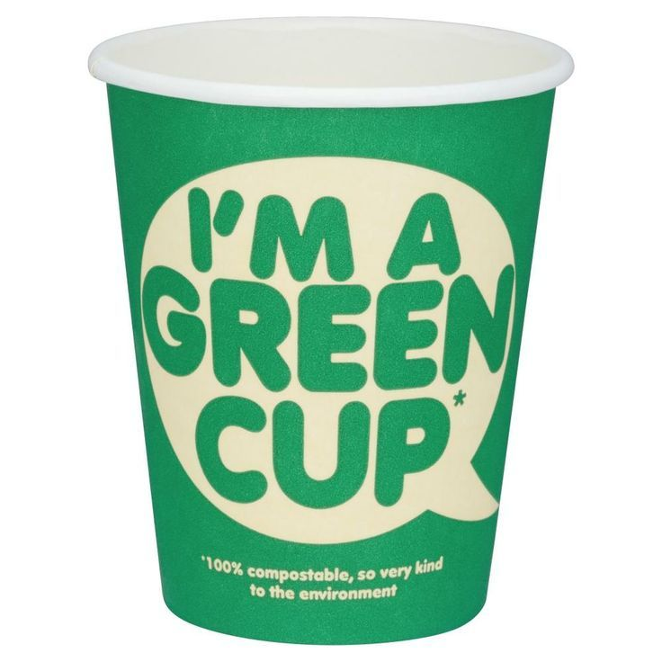I'm a green cup