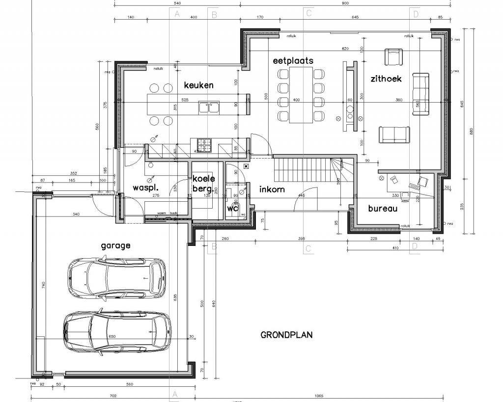 archifolio bij de molen nieuwbouw pinterest grundrisse h uschen grundrisse und hausbau. Black Bedroom Furniture Sets. Home Design Ideas