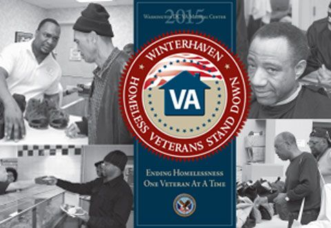 Many homeless and at risk Veterans will line up for the Winterhaven Homeless Veterans Stand Down being held Saturday, January 24 from 9 a.m. until 2 p.m. at the Washington DC Veterans Affairs Medical Center, 50 Irving Street, NW, Washington, DC.