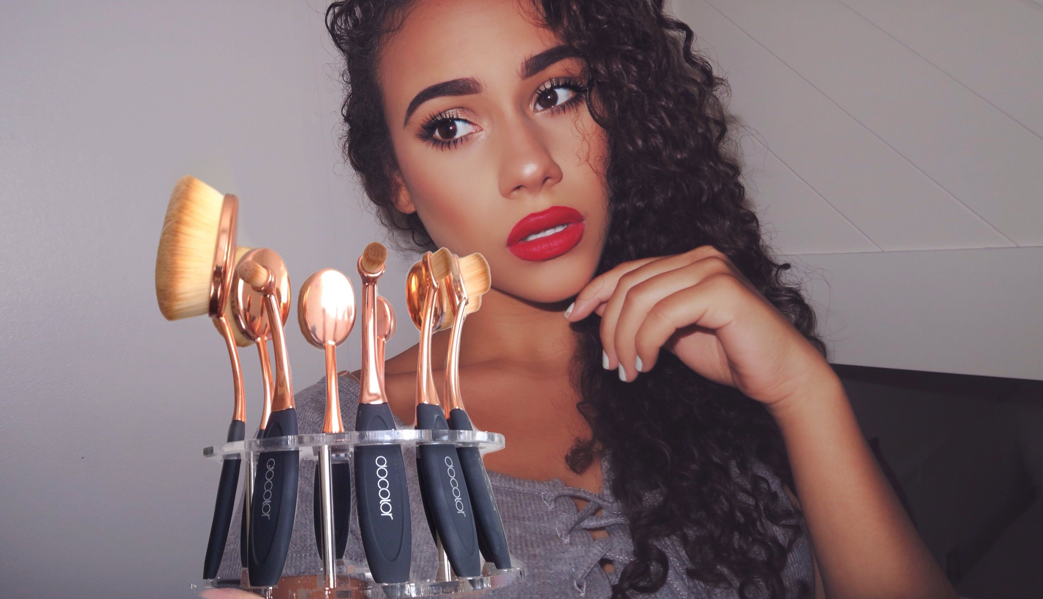 Docolor Artis Brush DUPE! Review+Demo http