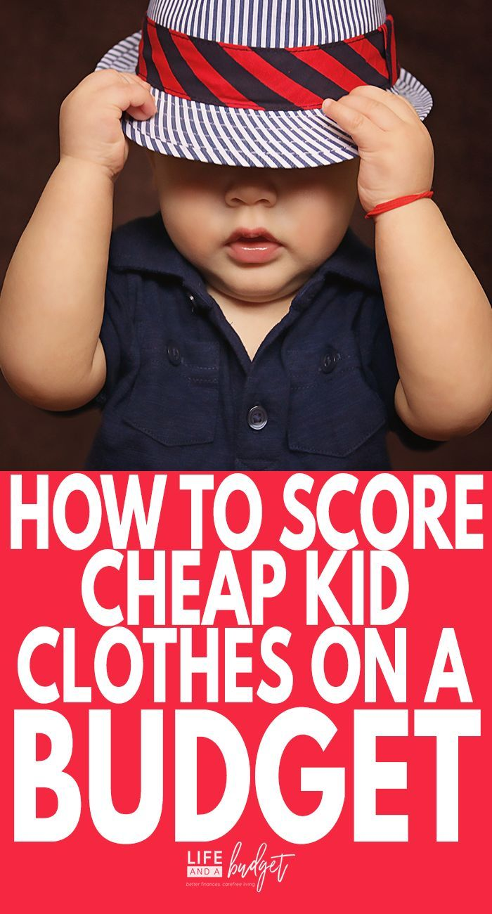 d3c664a75fd Cheap Kid Clothes  How To Dress Your Kids on a Small Budget!