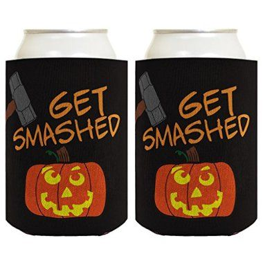 We're Here For The Boos 20293 Birthday Party Favors Koozies Witch Halloween