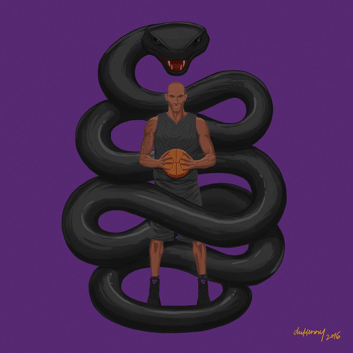 Kobe Bryant X Black Mamba Illustration Kobe Bryant Black Mamba Kobe Bryant Pictures Black mamba basketball black mamba kobe