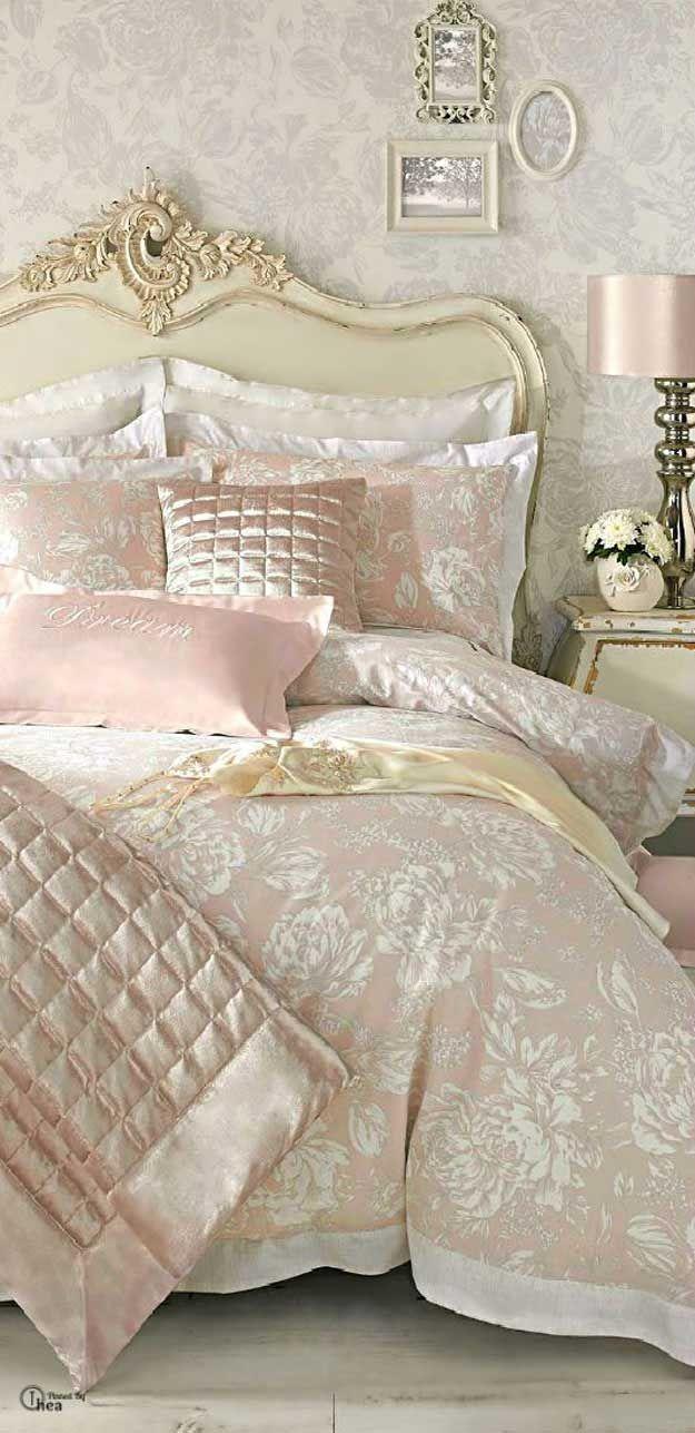Shabby chic bedding ideas
