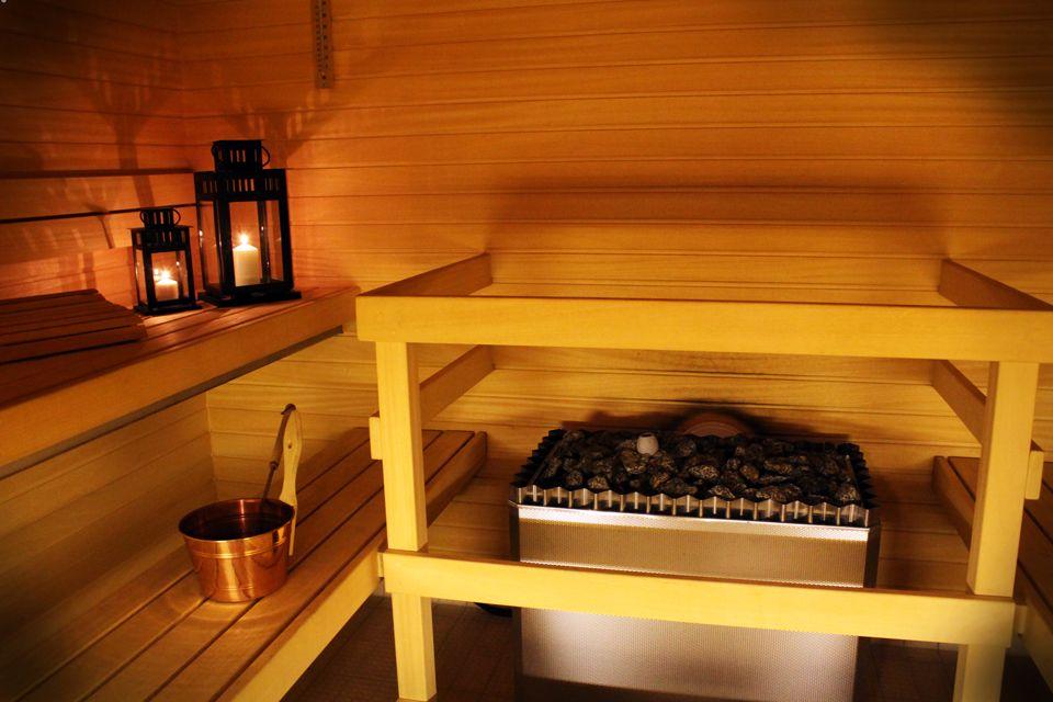 Astorian sauna