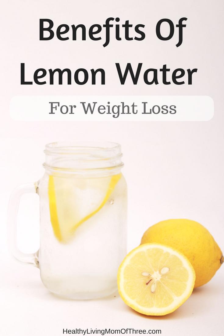 lose weight w lemon water
