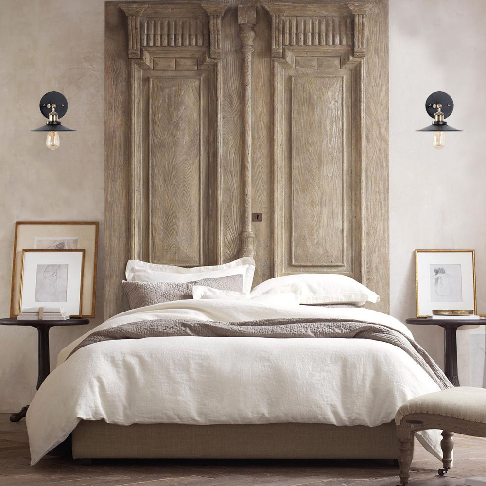 Cressley Sconce in 2020 Headboard from old door