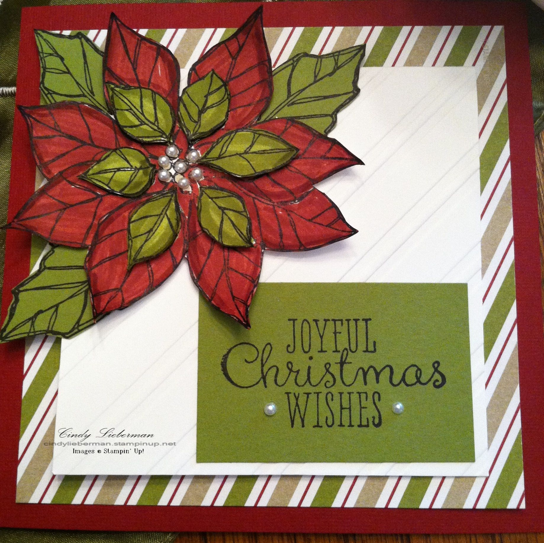 Another lovely new set, \u0027Joyful Christmas\u0027 can be ordered from my ...