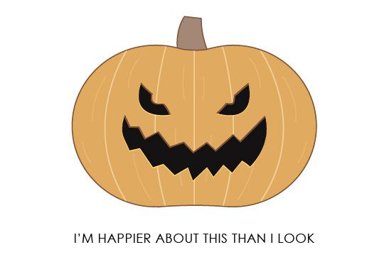 https://www.etsy.com/listing/167313833/jack-o-lantern-halloween-card-happy?ref=shop_home_active #halloween #happyhalloween #holidaycard #halloweencard #graphicdesign #vector #pumpkin #jackolantern