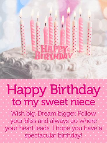 Happy Birthday To My Little Niece : happy, birthday, little, niece, Spectacular, Happy, Birthday, Wishes, Niece, Greeting, Cards, Davia, Niece,, Cards,
