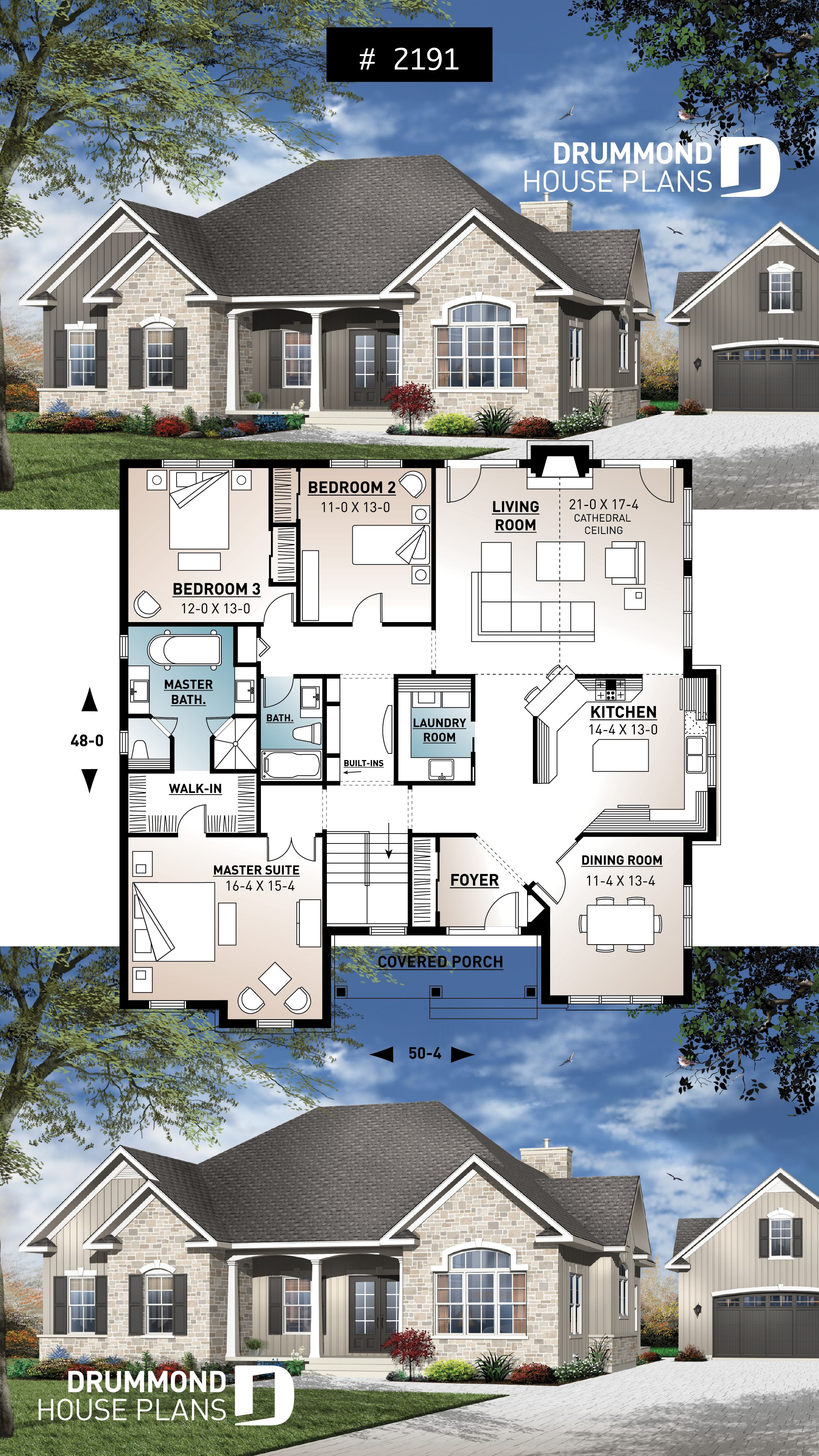 Discover The Plan 2191 Collin Which Will Please You For Its 3 Bedrooms And For Its Ranch Styles Sims House Plans Sims House House Blueprints