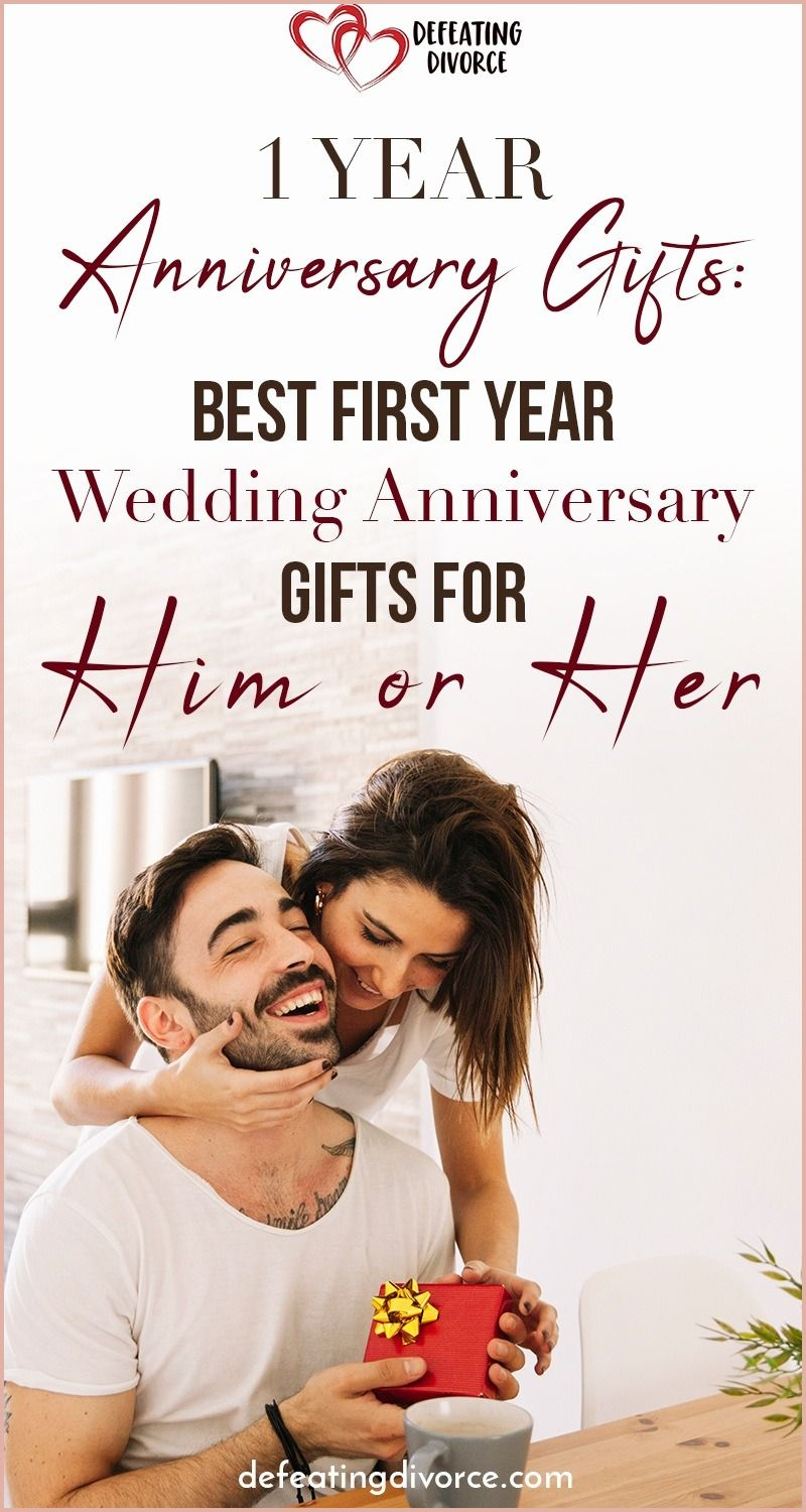 Exceptional First Year Wedding Anniversary Gifts For Him With Photos