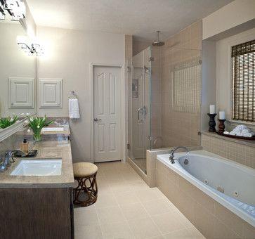 Modern Master Bath Remodel  Modern  Bathroom  Houston  Carla Prepossessing Simple Bathroom Remodels Decorating Design