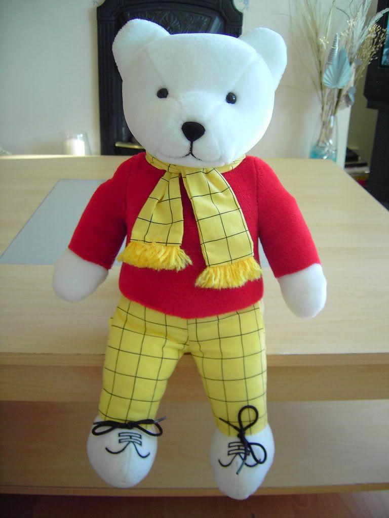Rupert Bear Large Plush Teddy by Golden Bear for sale £75.00