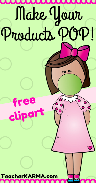 FREE Bubble Gum Kids Clipart - Make Your Products POP ...