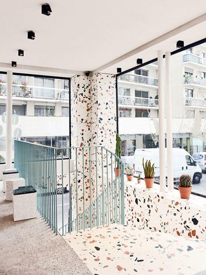 Antike trifft memphis trifft marmor terrazzo über das begehrte muster kooye