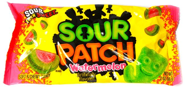 Sour Patch Kids Watermelon 2oz Happyspeedy Sour Patch Kids Sour Patch Chewy Candy