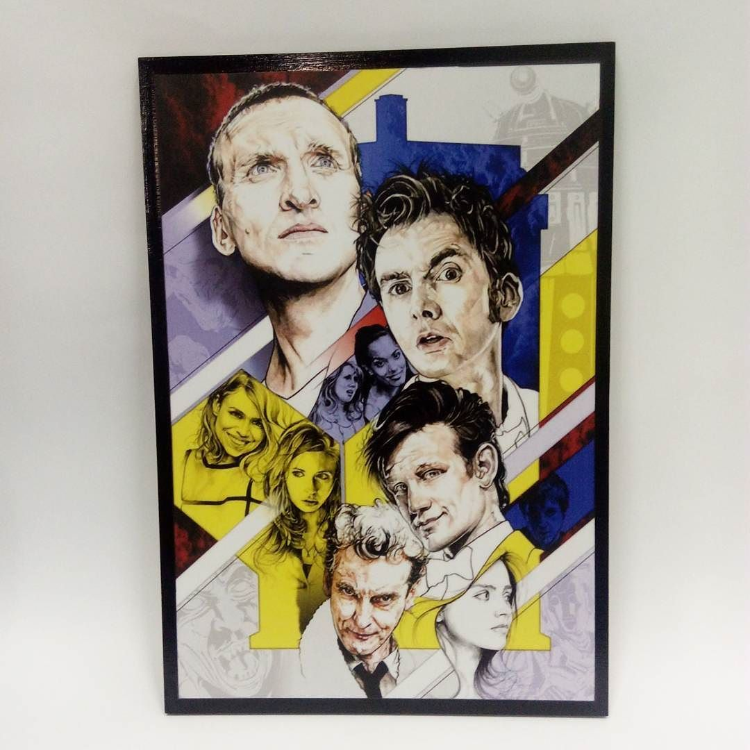 Quadro 29.5x20.50cm Doctor Who $35