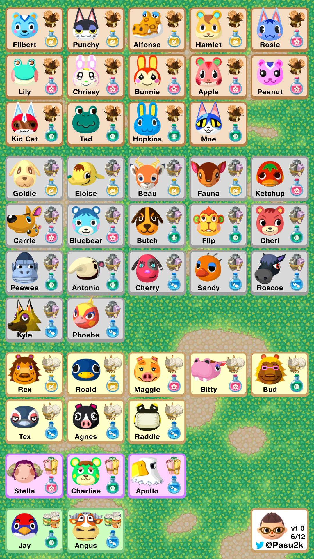 Animal Crossing Pocket Camp Animal crossing pocket camp