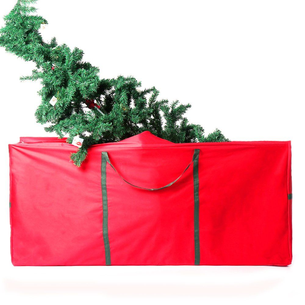 Large Durable Christmas Tree Storage Bag Ehonestbuy 600d Oxford Holiday Rolling Tree Bag Org Tree Storage Bag Christmas Tree Storage Bag Christmas Tree Storage