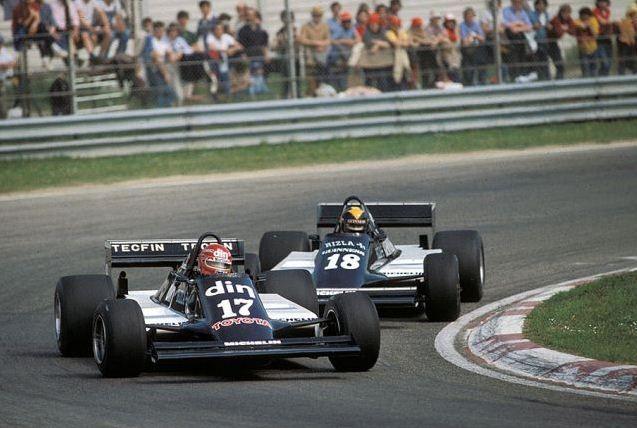 Eliseo Salazar, Imola 1981, March 811... followed by Team ...