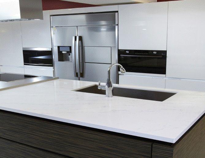 Hanstone Tranquility Countertop Design