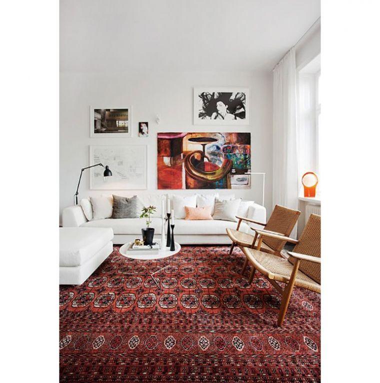 8x Perzische Tapijten Interior Junkie Woonkamer Appartement Woonkamer Wit Woonkamer Decoratie