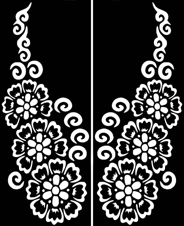 Variety #Henna Temporary Tattoo Glitter #Stencil #Sticker Body Art ...