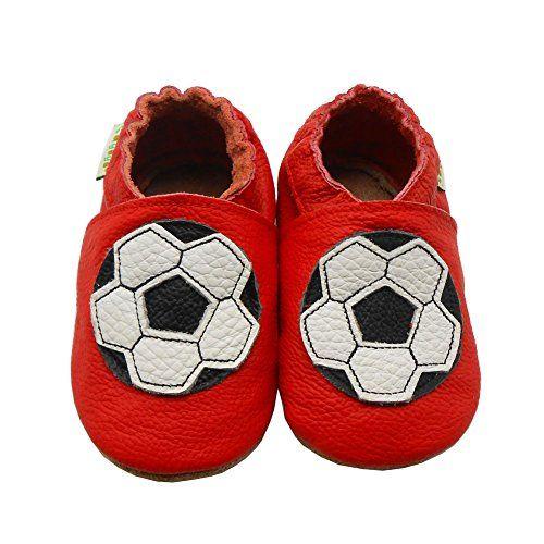 Sayoyo Fußball WeichesLeder Lauflernschuhe Krabbelschuhe Babyschuhe - http://on-line-kaufen.de/sayoyo/sayoyo-fussball-weichesleder-lauflernschuhe