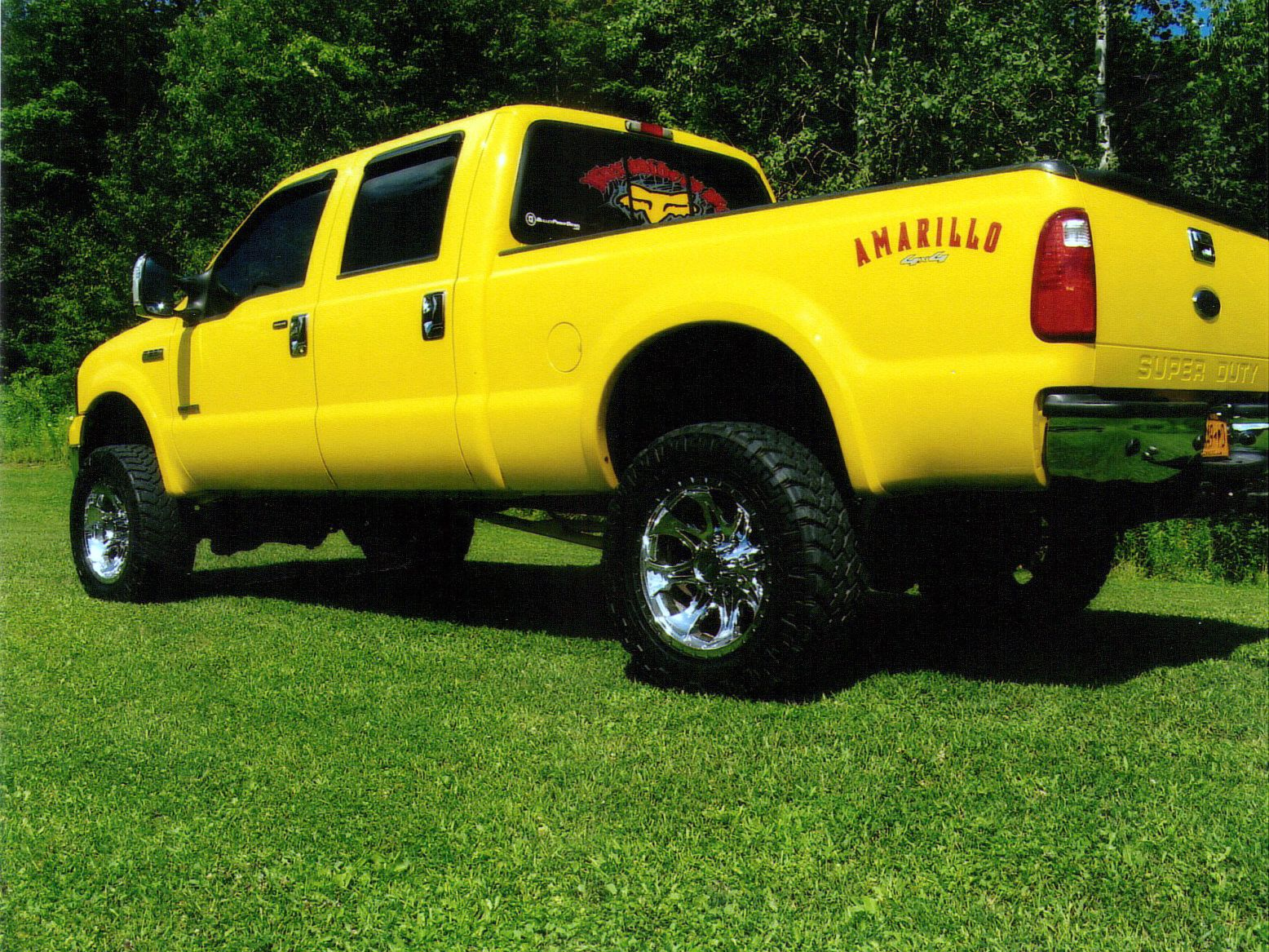 Amarillo SuperDuty Ford Bullet Naccarato Proof Diesel