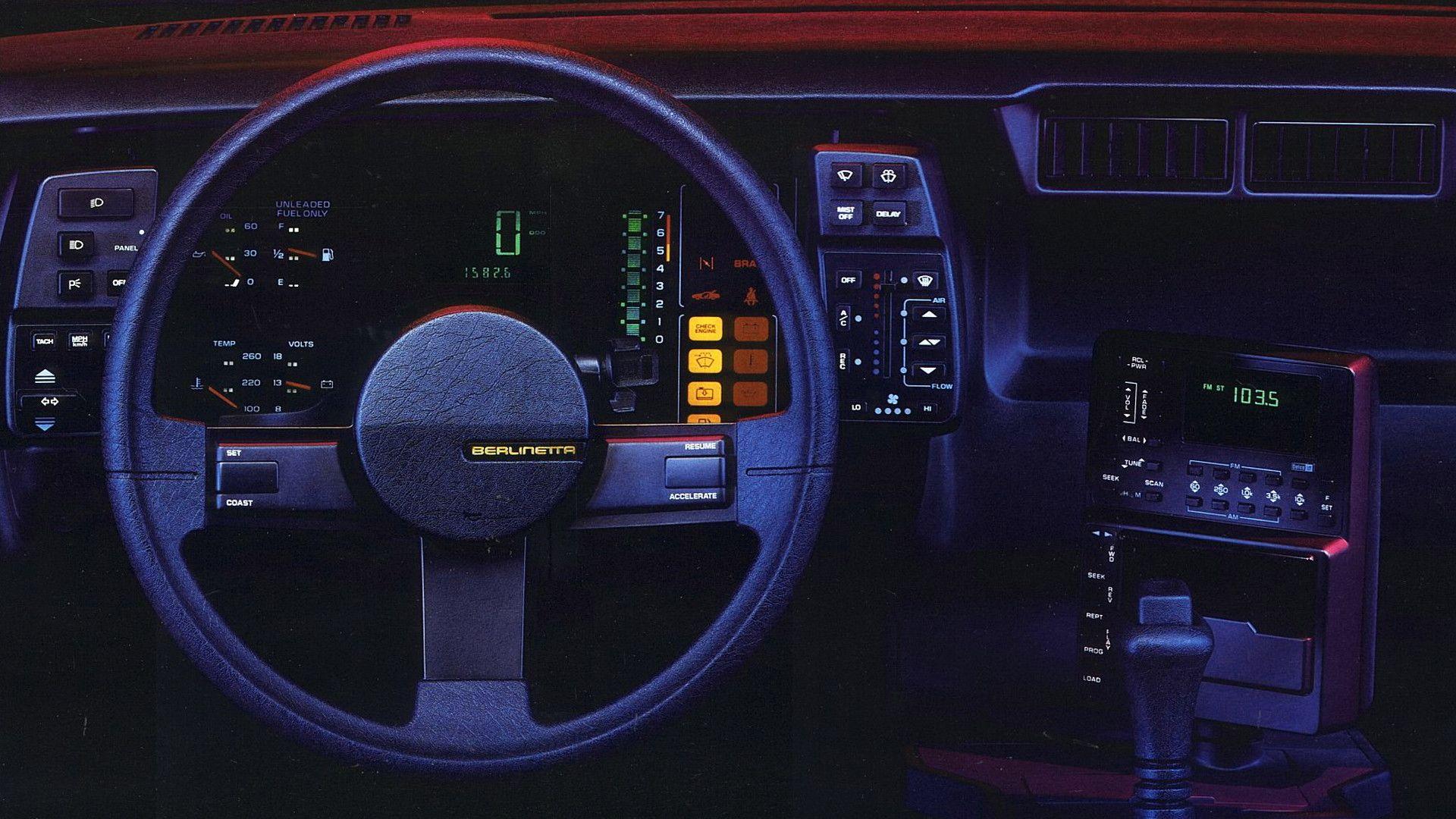 1984 Camaro Berlinetta Dash 1920 X 1080
