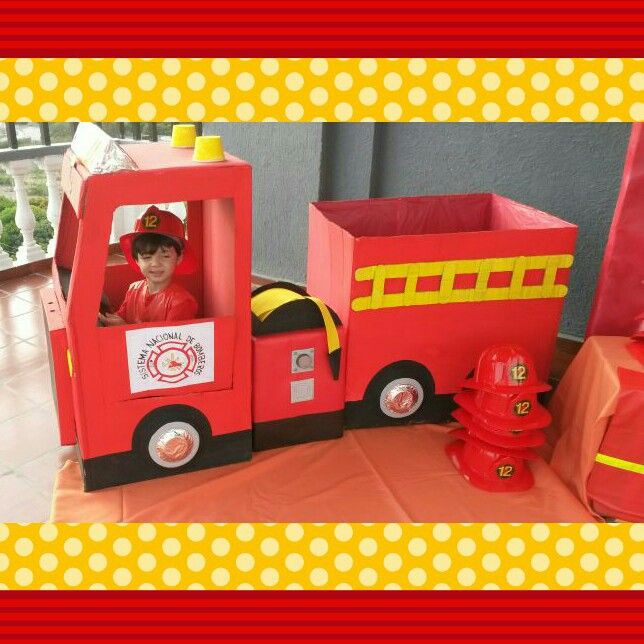 Carro de bomberos #fiesta#decoracion#niños | Patrulla canina ...
