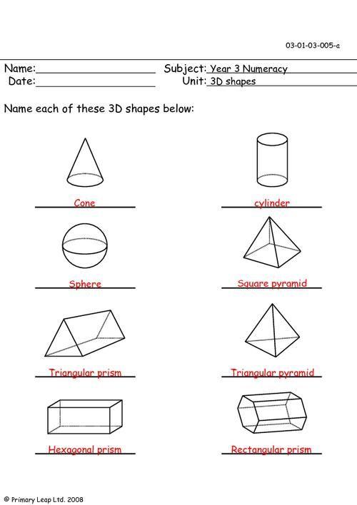 3d shapes worksheet year 2 shapes 3d shapes worksheets shapes worksheets 3d shapes. Black Bedroom Furniture Sets. Home Design Ideas