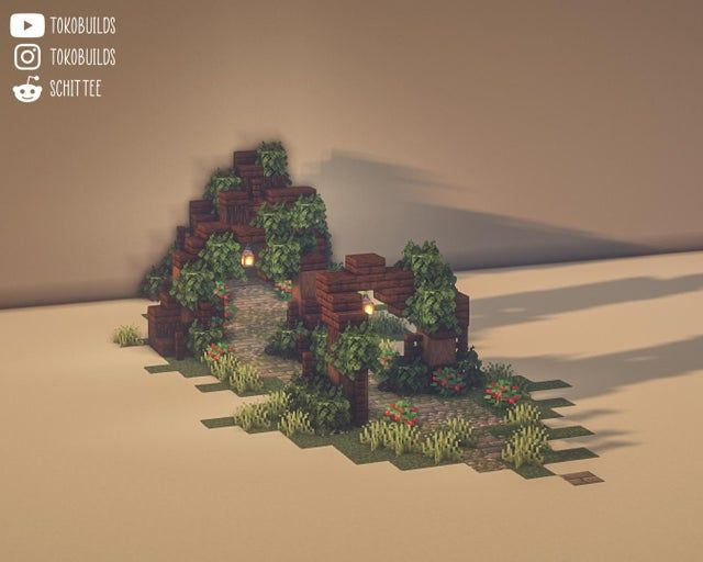 Some Path designs for different Biomes :) Credit f