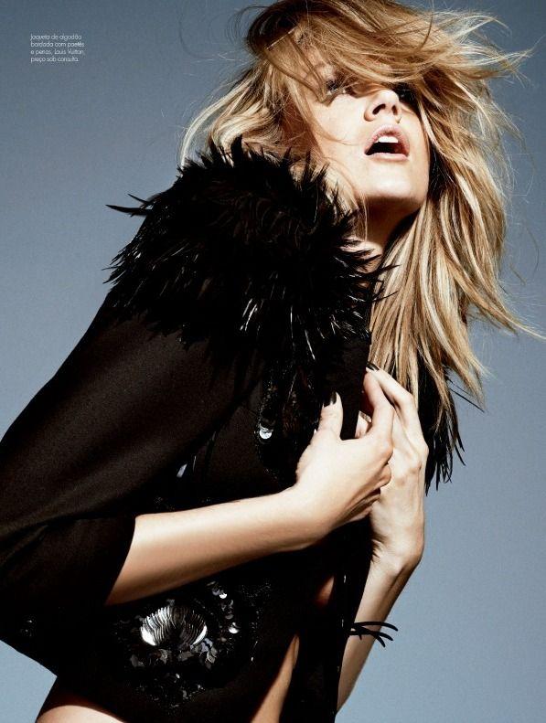 cool Elle Brazil April 2014 | Lindsay Ellingson by Nicole Heiniger  [Editorial]