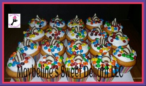 Candy Cupcakes by #msweetdelights