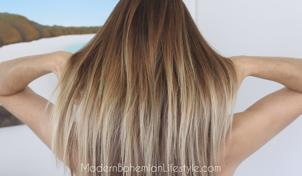 Ombre Balayage On Straight Hair